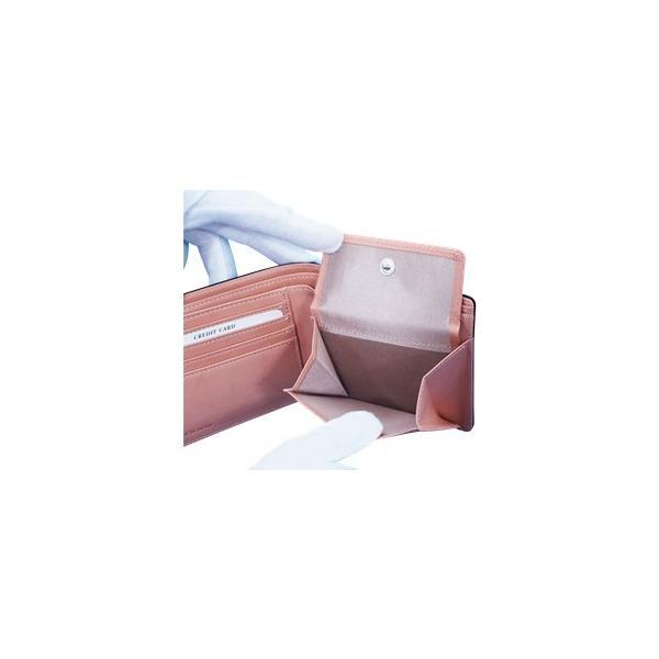 日本製 馬革 コードバン 二つ折り財布 (メンズ コードバン二つ折り財布 小銭入れ有り)Cordovan|r-style|06