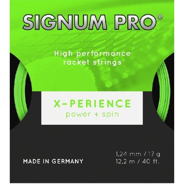 SIGNUM PRO シグナムプロ X-PERIENCE エクスペリエンス  硬式テニス用ガット