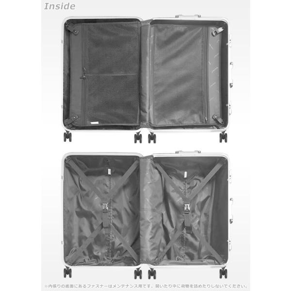スーツケース キャリーバッグ L サイズ 大型 無料受託手荷物 3辺158cm以内  深溝フレームタイプ Wキャスター TSAロック|rabbittuhan|13