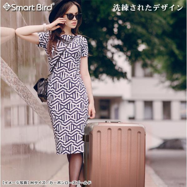 スーツケース キャリーバッグ L サイズ 大型 無料受託手荷物 3辺158cm以内  深溝フレームタイプ Wキャスター TSAロック|rabbittuhan|04