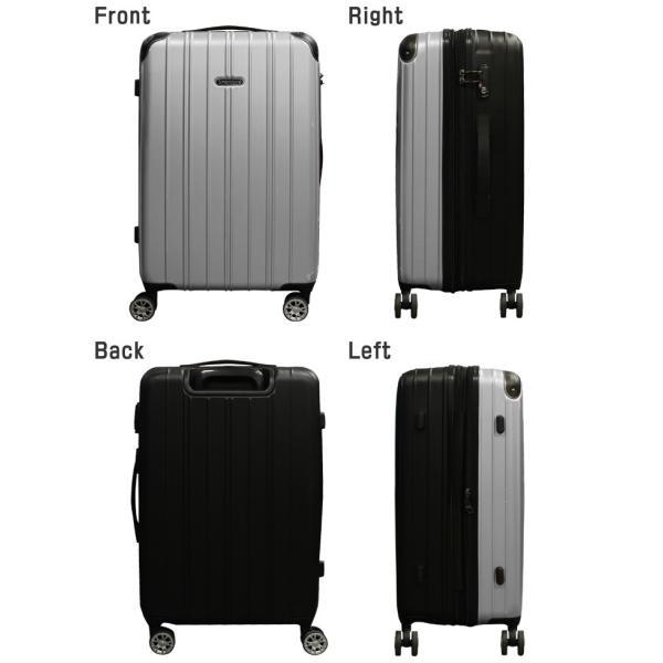 スーツケース キャリーバッグ M/MSサイズ 中型/セミ中型 超軽量 TSAロック キャリーケース rabbittuhan 06