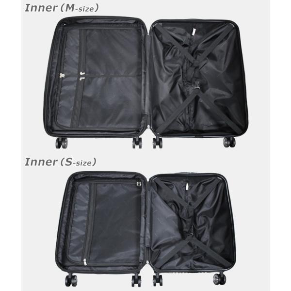 【アウトレット品】スーツケース 大容量 S サイズ キャリーバッグ 小型  超軽量 拡張機能付き 8輪 Wキャスター TSAロック|rabbittuhan|08