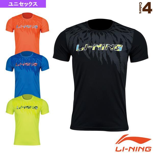 リーニン テニス・バドミントンウェア(メンズ/ユニ) トレーニングTシャツ/ユニセックス(AHSN211)