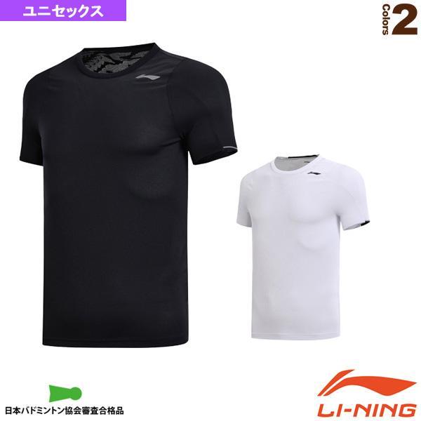 リーニン テニス・バドミントンウェア(メンズ/ユニ)  トレーニングTシャツ/ユニセックス(ATSN057)