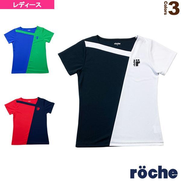 ローチェ(roche) テニス・バドミントン ウェア(レディース)  ゲームシャツ/レディース(RD441)
