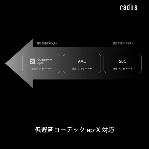 【ポイント10倍・送料無料】ラディウス radius HP-NX500BT NeEXTRAシリーズ 完全ワイヤレスイヤホン Bluetooth対応 タッチセンサー IPX4 防水 あすつく対応 radius 10