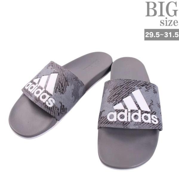 adidas アディダス サンダル ADILETTE CF LOGO 大きいサイズ メンズ スリッパ C02020411 rag001