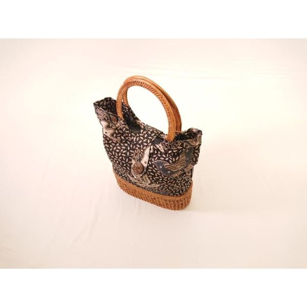 アタとバティックのバッグ【収納型】(小)1