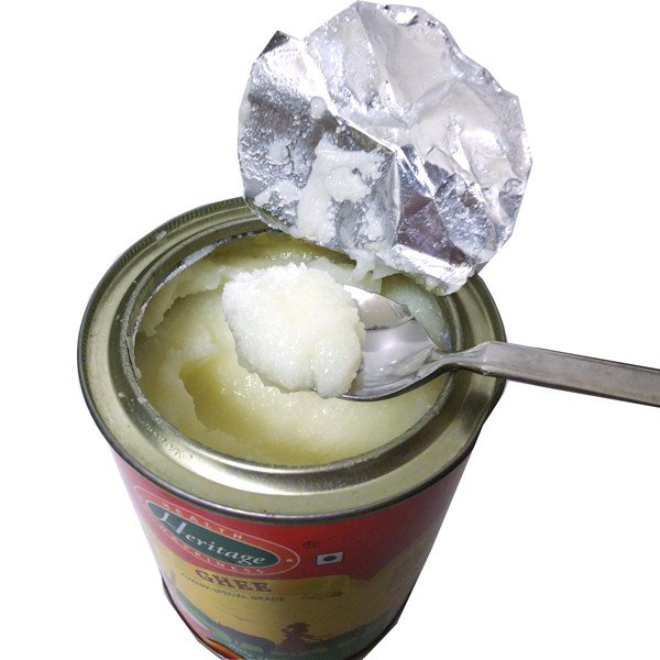 ギー 水牛のミルクだけで作った白いギー 500mL【香りもコクも違うと評判です!】 バターオイル 澄ましバター buffalo ghee【送料無料】|rainbio|03
