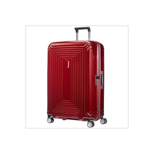 【ラッピング不可】サムソナイト Samsonite 65754 1544 スーツケース Neopulse Spinner ネオパルス スピナー メタリック レッド 75cm 94L