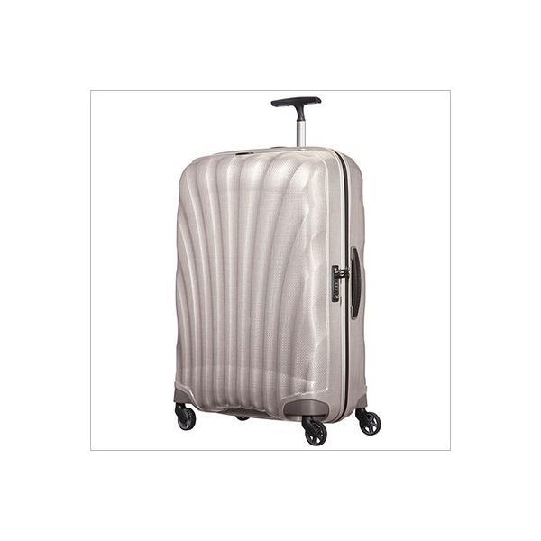 【ラッピング不可】サムソナイト Samsonite 73351 1673 スーツケース COSMOLITE 3.0 Spinner コスモライト スピナー  パール 75cm 94L