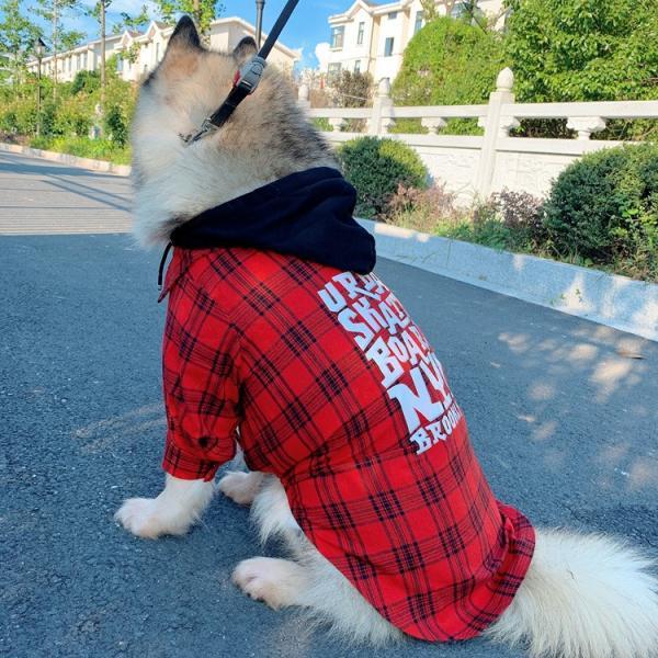 犬とお揃いコーデ 犬 ペアルック チェック柄シャツ 大型犬/小型犬 春夏服 お揃いの服♪ペットとオーナーがペアルック出来る♪お出かけ 飼い主様とお揃い 猫服|rainbow18-store|10