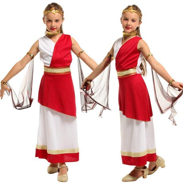 ハロウィン 女の子 子供 Halloween プリンセススカート コスプレ専用 アラビア王女 キッズグッズ 変装 アラビア風 舞台 ナルト|rainbow18-store