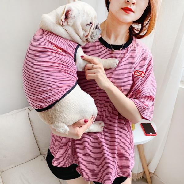 犬 お揃いコーデ 犬とお揃い 犬 ペアルック 犬の服 ペット親子お揃い♪ペットとオーナーがペアルック出来る♪Tシャツ 犬とペアルック 犬服親子 ドッグウェア|rainbow18-store|02