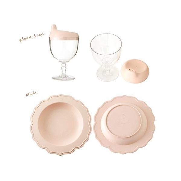 Reale レアーレ フルセット(スープカップ、グラス&キャップ、三食プレート、プレート&ボール) ピンク|rainbowmarket|05