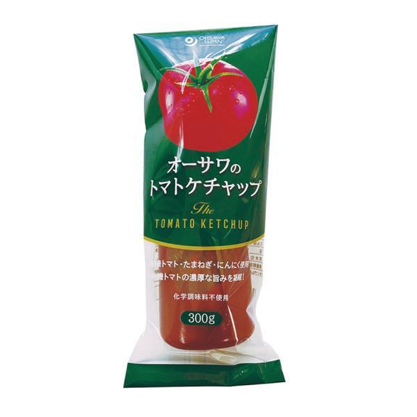 オーサワのトマトケチャップ(有機トマト使用)300g【8個セット】