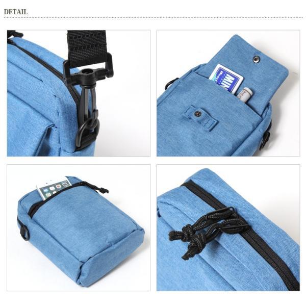アネロ ショルダーバッグ 2wayバッグ メンズ 斜め掛け サコッシュ メッセンジャー かばん 鞄 小さめ 軽量 軽い anello|rainbunker|08