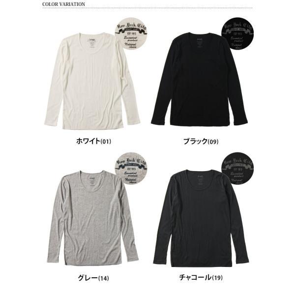 メンズ Tシャツ 長袖 Uネック schott ショット ロンT ロングTシャツ 3123092 即納|rainbunker|02
