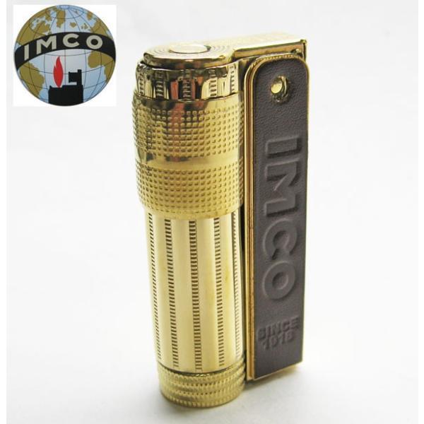 IMCO イムコスーパー 革巻き ブラス オイルライター