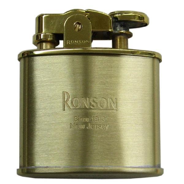 RONSON ロンソン ライター スタンダード ブラスサテン