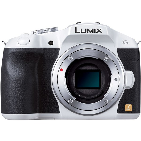 [新品]Panasonic ミラーレス一眼 LUMIX DMC-G6-W ボディ [ホワイト]