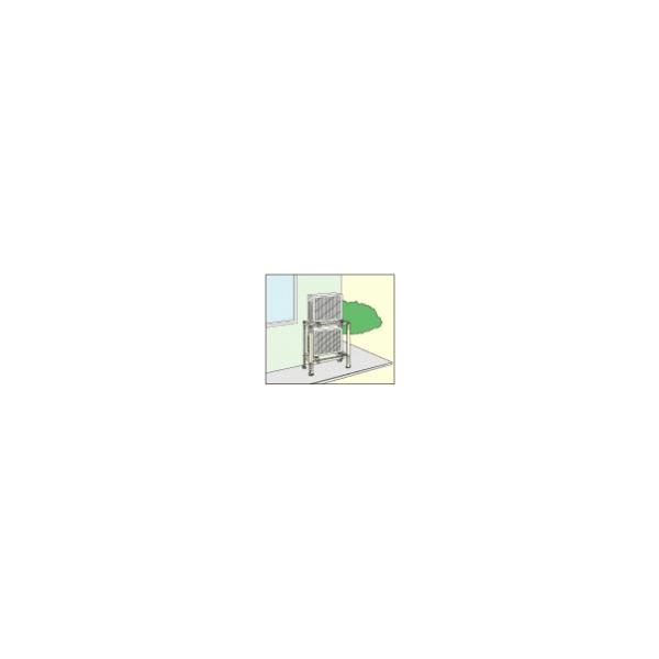 (キャッシュレス5%還元)(送料無料)日晴金属 クーラーキャッチャー 二段置用 C-WG CWG|rakurakumarket|02