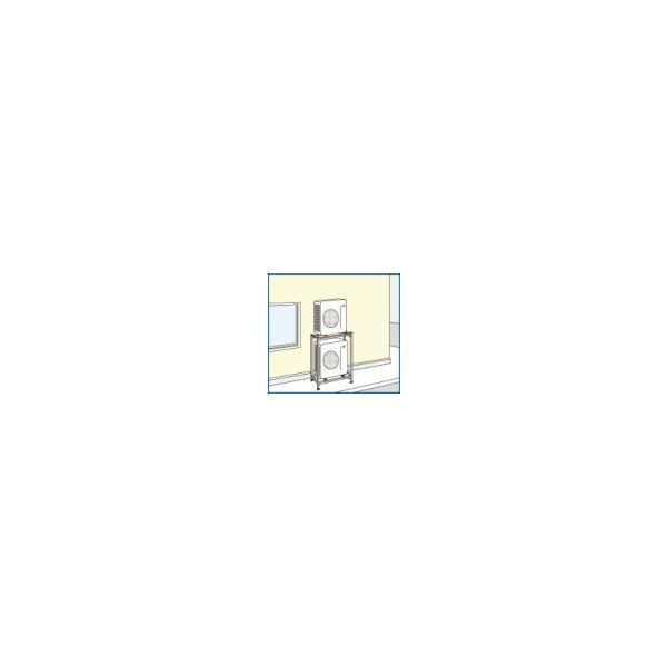 (法人様宛限定)日晴金属 PCキャッチャー 二段・平地高置用 PC-NJ30WL (旧品番PC-NG30WL) PCNJ30WL