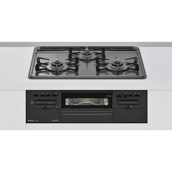 (送料無料)リンナイ RS31W28H2RBW 都市ガス用  ビルトインコンロ メタルトップシリーズ 幅60cm|rakurakumarket
