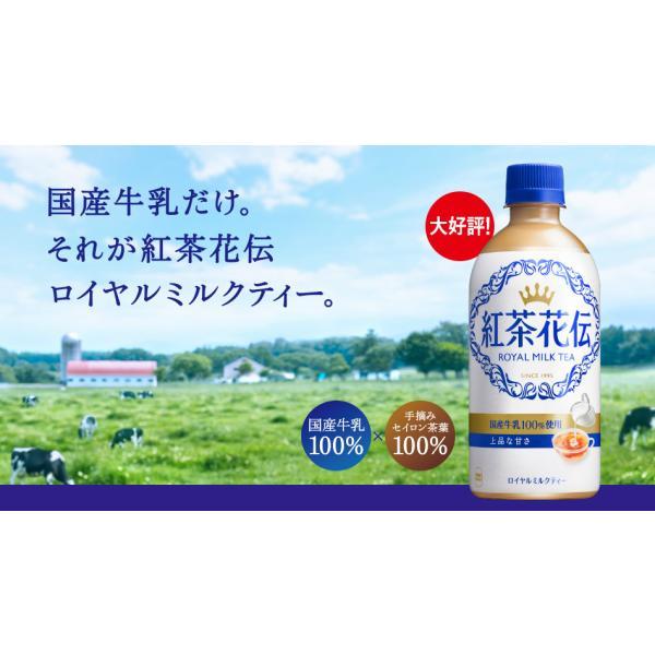 紅茶花伝 ロイヤルミルクティー 440ml PET 1ケース×24本入 送料無料|rakushindenki|04