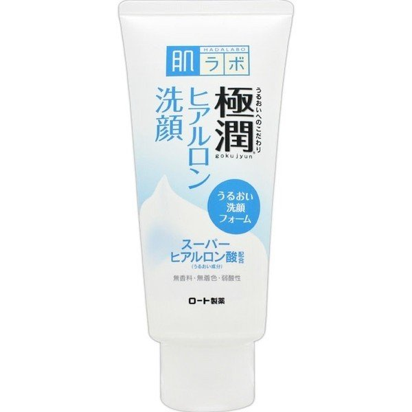 肌研(ハダラボ) 極潤 ヒアルロン洗顔フォーム 100g :4987241145607 ...
