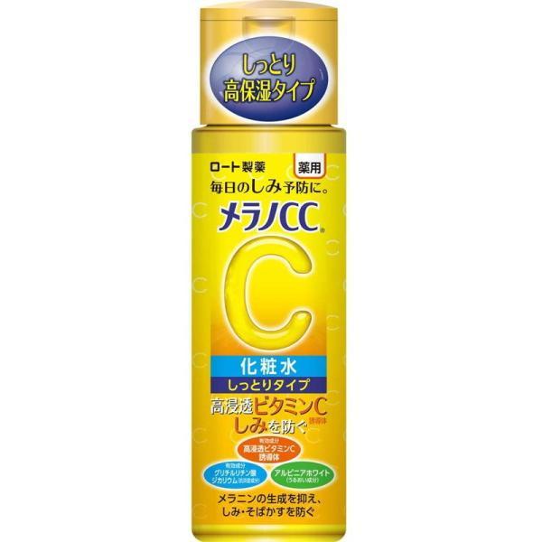 ロート製薬 メラノCC 薬用 しみ対策美白化粧水 しっとりタイプ 170ml