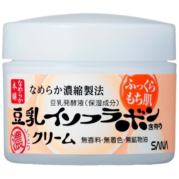 SANA サナ なめらか本舗 豆乳イソフラボン クリームNA 50g|rakushindenki|02