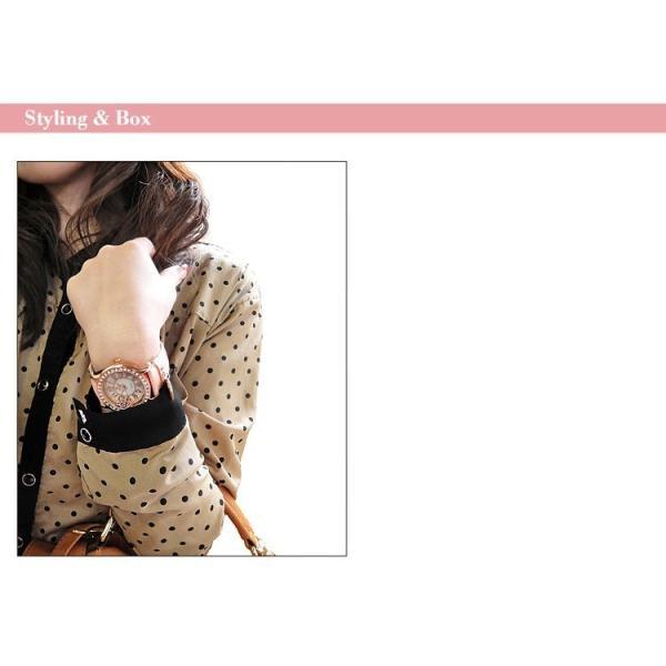 ミッキー 腕時計 ディズニー Disney ミッキー レディース 本牛革 レザー ハート アウトレット disney_y|rakusho|03