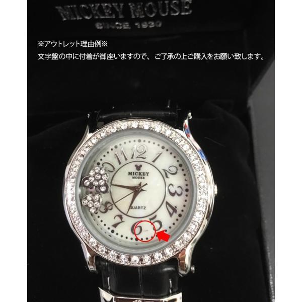 ミッキー 腕時計 ディズニー Disney ミッキー レディース 本牛革 レザー ハート アウトレット disney_y|rakusho|05