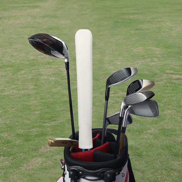 アライメントスティックカバー ツアースティック用レザーヘッドカバー ゴルフアクセサリー 手作り ALIGNMENT STICK COVER 4色あり|rakushogolf|06
