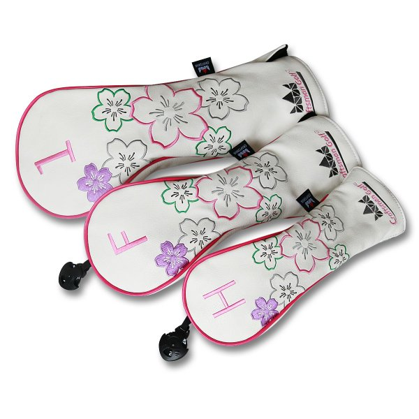 ★税込★CRAFTSMAN クラフトマンウッドカバーセット3個入り 桜満開の季節|rakushogolf|05