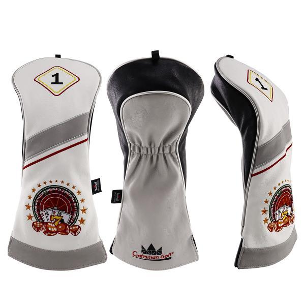 ★税込★CRAFTSMANクラフトマン ドライバーカバー ゴルフヘッドカバー ロシアコンパス刺繍 460CC対応#1|rakushogolf
