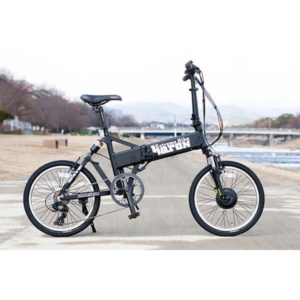 【折りたたみ電動自転車】バロン-X 20インチ 電動アシスト自転車に見えない 大容量13Ahバッテリーが人気!スポーツ系電動自転車|rakusuku|14