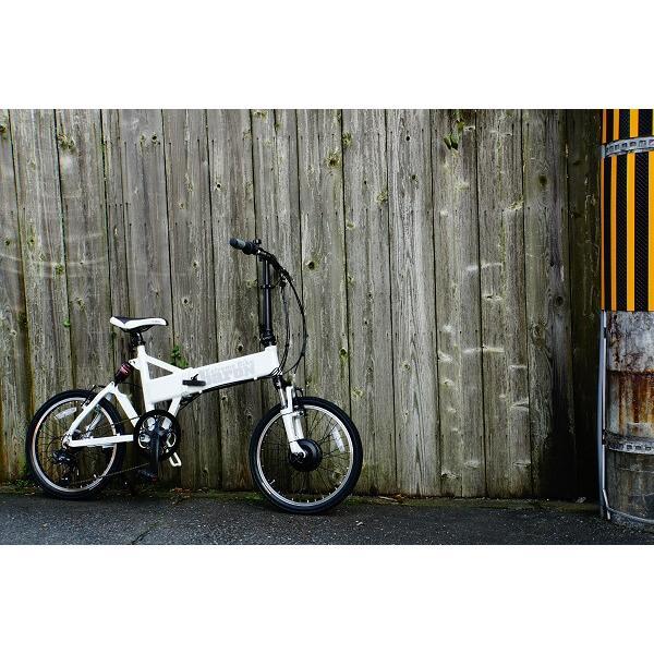 【折りたたみ電動自転車】バロン-X 20インチ 電動アシスト自転車に見えない 大容量13Ahバッテリーが人気!スポーツ系電動自転車|rakusuku|15