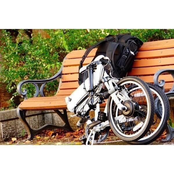 【折りたたみ電動自転車】バロン-X 20インチ 電動アシスト自転車に見えない 大容量13Ahバッテリーが人気!スポーツ系電動自転車|rakusuku|16