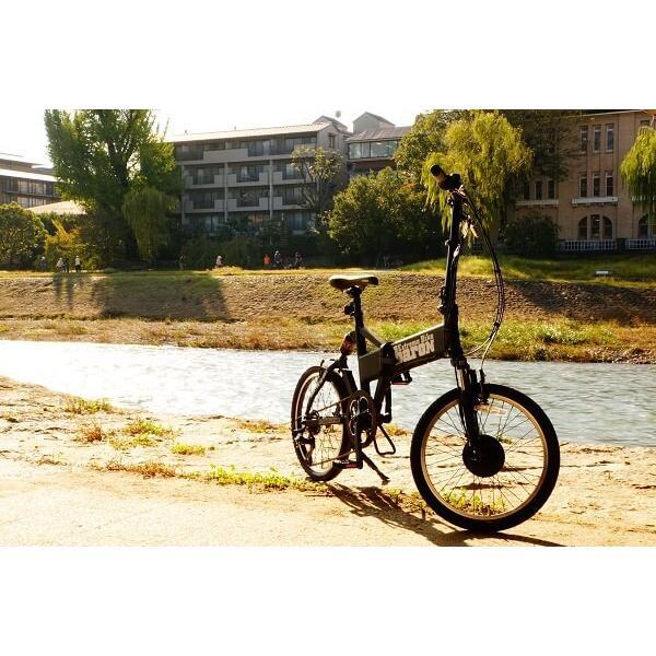 [折りたたみ電動自転車]バロンX 20インチ スポーツ系電動自転車 大容量13Ahバッテリーが人気 電動アシスト自転車|rakusuku|18