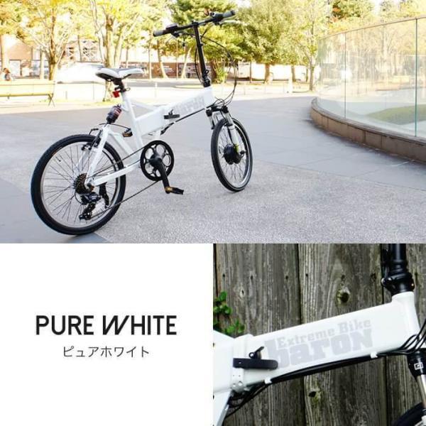 【折りたたみ電動自転車】バロン-X 20インチ 電動アシスト自転車に見えない 大容量13Ahバッテリーが人気!スポーツ系電動自転車|rakusuku|06