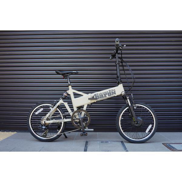 【折りたたみ電動自転車】バロン-X 20インチ 電動アシスト自転車に見えない 大容量13Ahバッテリーが人気!スポーツ系電動自転車|rakusuku|08
