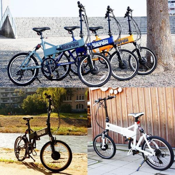 【折りたたみ電動自転車】バロン-X 20インチ 電動アシスト自転車に見えない 大容量13Ahバッテリーが人気!スポーツ系電動自転車|rakusuku|09