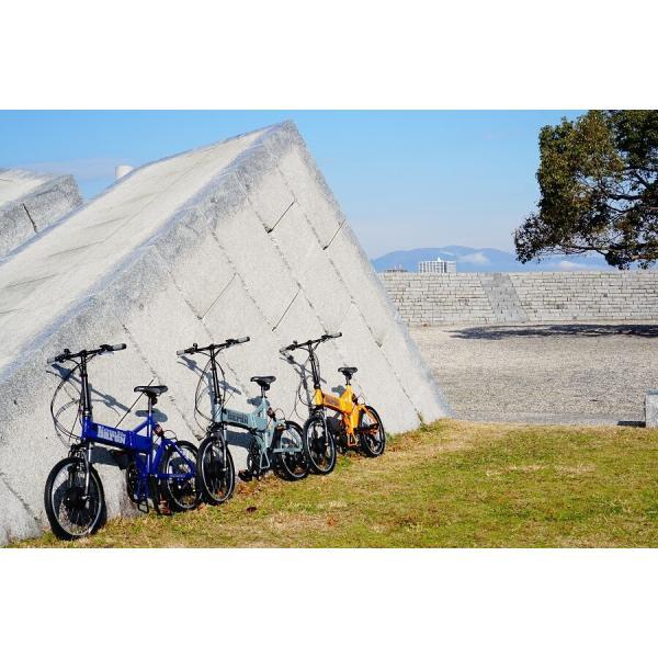 【折りたたみ電動自転車】バロン-X 20インチ 電動アシスト自転車に見えない 大容量13Ahバッテリーが人気!スポーツ系電動自転車|rakusuku|10