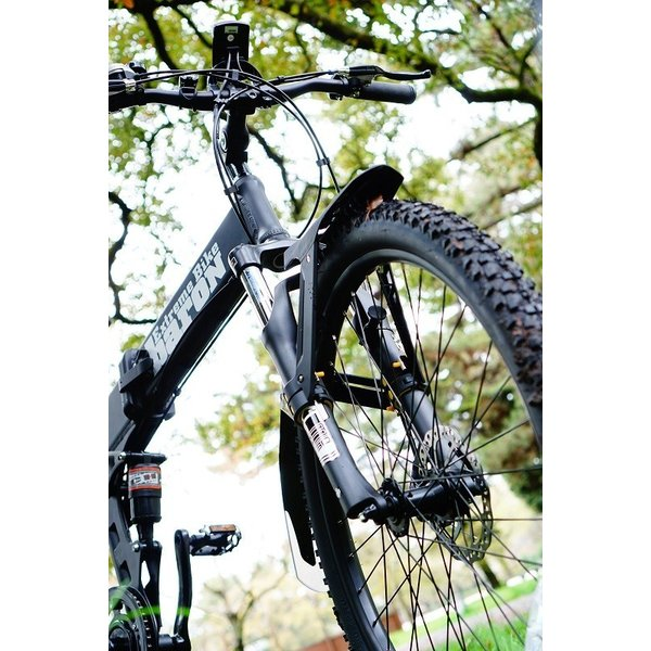 [折りたたみ電動自転車]バロンX 26インチ スポーツ系電動自転車 大容量13Ahバッテリーが人気 電動自転車に見えない|rakusuku|19