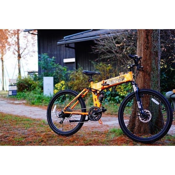 [折りたたみ電動自転車]バロンX 26インチ スポーツ系電動自転車 大容量13Ahバッテリーが人気 電動自転車に見えない|rakusuku|06