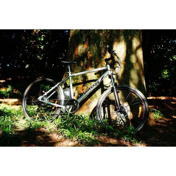 【新色入荷!】電動自転車  グリッサード 26インチ |電動アシスト自転車 クロスバイク  リチウムイオンバッテリー|rakusuku|13