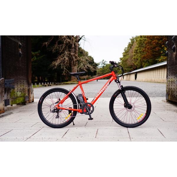 【新色入荷!】電動自転車  グリッサード 26インチ |電動アシスト自転車 クロスバイク  リチウムイオンバッテリー|rakusuku|15