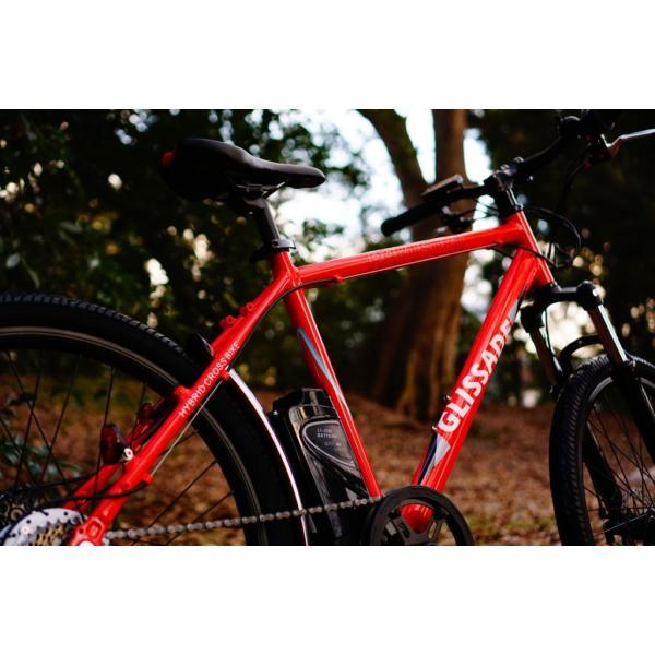 【新色入荷!】電動自転車  グリッサード 26インチ |電動アシスト自転車 クロスバイク  リチウムイオンバッテリー|rakusuku|16